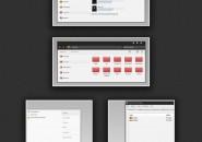 Kuroi theme for windows 7