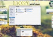 Lion 7 beta 3 theme for windows 7