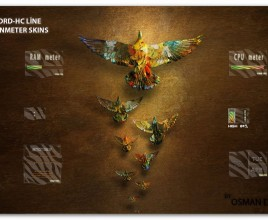Lord Scarab Rainmeter Theme For Windows 7