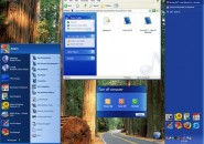 Luna Blue Element Windows Blind Theme
