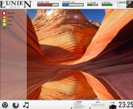 Lunien URGame  Rainmeter Theme For Windows 7