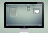 Mac Bar Silver Rainmeter Skin For Windows 7