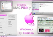 Mac pink theme for windows 7