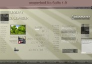 Magasuite Windows 7 Rainmeter Skin
