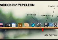 Mini Dock Pepelon Windows 7 Rainmeter Skin