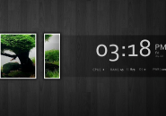 Minimal Treed Rainmeter Skin For Windows 7