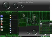 My Matrix Windows Blind Theme