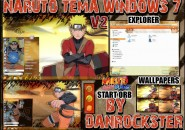 Naruto tema theme for windows 7
