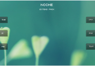 Noche Extended Pack Windows 7 Rainmeter Skin