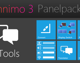 Omnimo 3 Tools Pack Rainmeter Theme For Windows 7