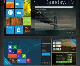 Omnimo 5.0 Windows 7 Rainmeter Skin