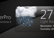 Omnimo Weather Pro Rainmeter Theme For Windows 7