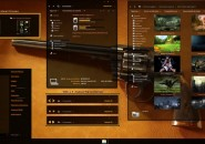 Orange cult 2.0 theme for windows 7