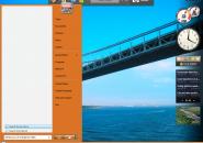Oranged Windows Blind Theme