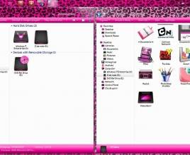 Pink theme for windows 7