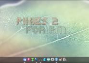 Pixies Veined Windows 7 Rainmeter Theme