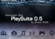 Playsuite Rainmeter Skin For Windows 7