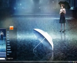 Rain theme for windows 7