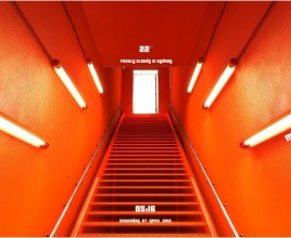Red Hallways Windows 7 Rainmeter Skin