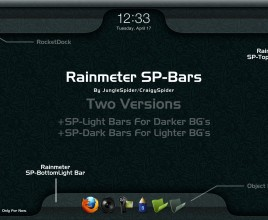 SP Bars Rainmeter Theme For Windows 7