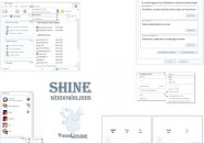 Shine Pages Windows Blind Theme