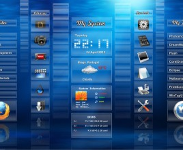 Simplified Browsing Rainmeter Skin For Windows 7