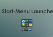 Start Menu Launcher Rainmeter Theme