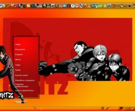 Tema de gantz theme for windows 7