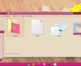 Tema m pink theme for windows 7