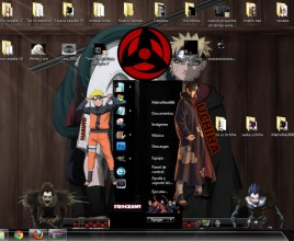 Tema naruto theme for windows 7