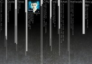 The Rain Huge Rainmeter Skin For Windows 7