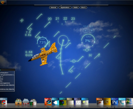 Tiger L-39 HUD Windows 7 Rainmeter Skin