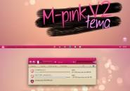 V pink v2 theme for windows 7