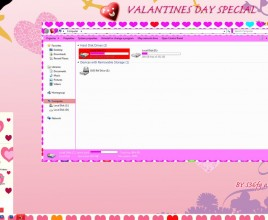 Valentines day theme for windows 7