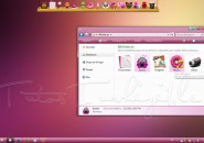 Vista pink pastel theme for windows 7