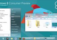 Windows 8 consumer theme for windows 7