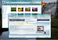 Windows Aero Teal Windows Blind Theme