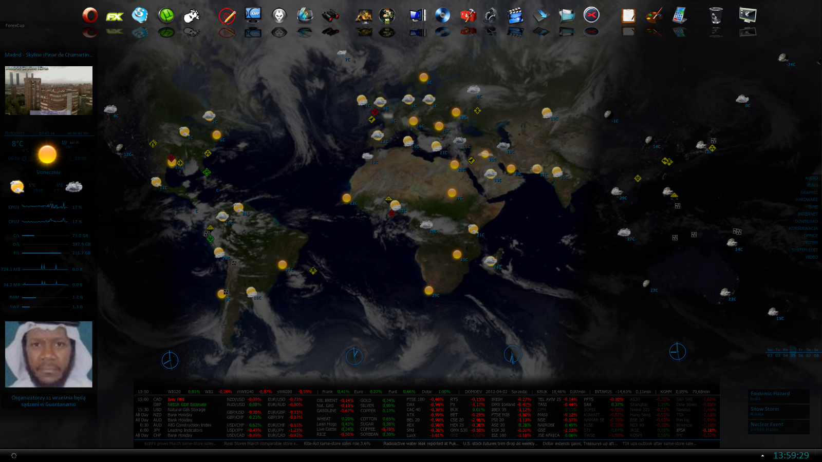 Windows 7 utilities rainmeter skins world map windows 7 rainmeter skin gumiabroncs Image collections