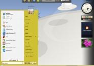 Yellowed Windows Blind Theme