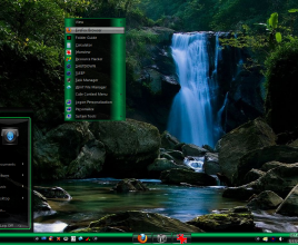 glow modified theme for windows 7