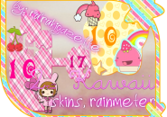 2Skins Kawaii Rainmeter Skins