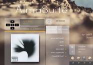 Alma Suite Rainmeter Skin For Windows 7