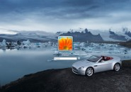 Aston Martin Vantage Logon Screen For Windows 7