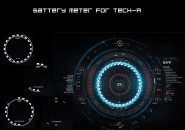Battery Meter Rainmeter Skins
