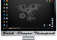 Black dragon themepack for windows 7