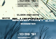 Blueprint Rainmeter Skins