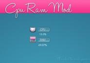 CPU Ram Mod Rainmeter Skins