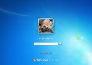 Classic Windows 7 Logon Screen