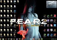 Fear themepack for windows 7
