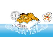 Garfield Sleeps Screensaver